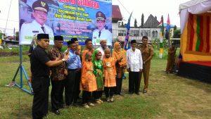Peresmian di pusatkan di gampong Mulia Kecamatan Kuta Alam oleh Walikota Banda Aceh Bapak Aminullah Usman, SE.AK.MM pada hari Selasa 3 Oktober 2017